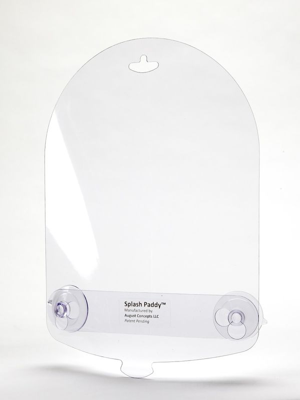 Original Classic Clear Splash Paddy Sink Guard